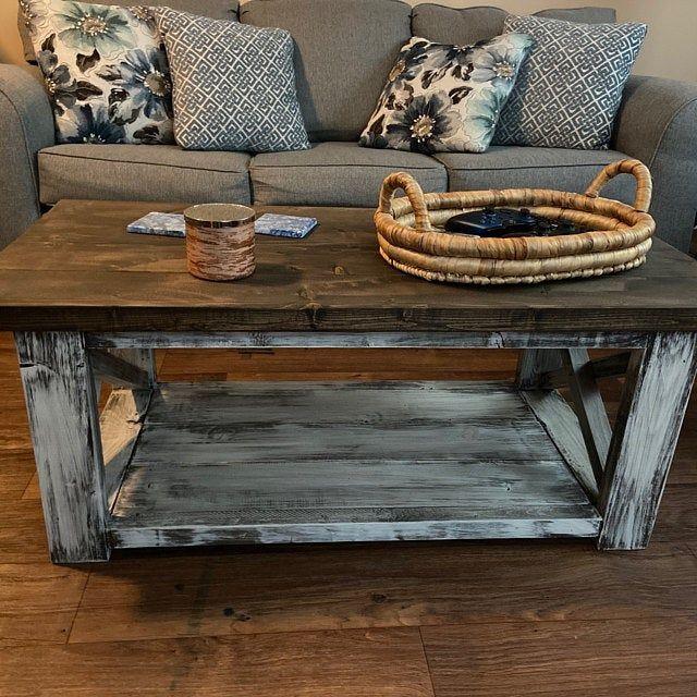 Farmhouse Living Room Set End Tables Set And Coffee Table Etsy Farmhouse Table With Bench Rustic Living Room Furniture Rustic Farmhouse Table