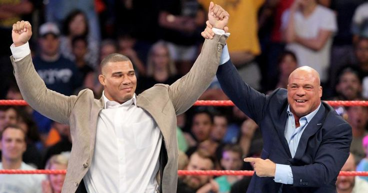 WWE Raw ignites with Kurt Angle reveal of Jason Jordan as his son; their family reunion is alpha-ready.