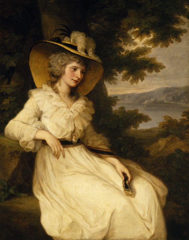 Angelica Kauffman - portrait of Lady Elizabeth Foster - Elizabeth Cavendish, duquesa de Devonshire – Wikipédia, a enciclopédia livre