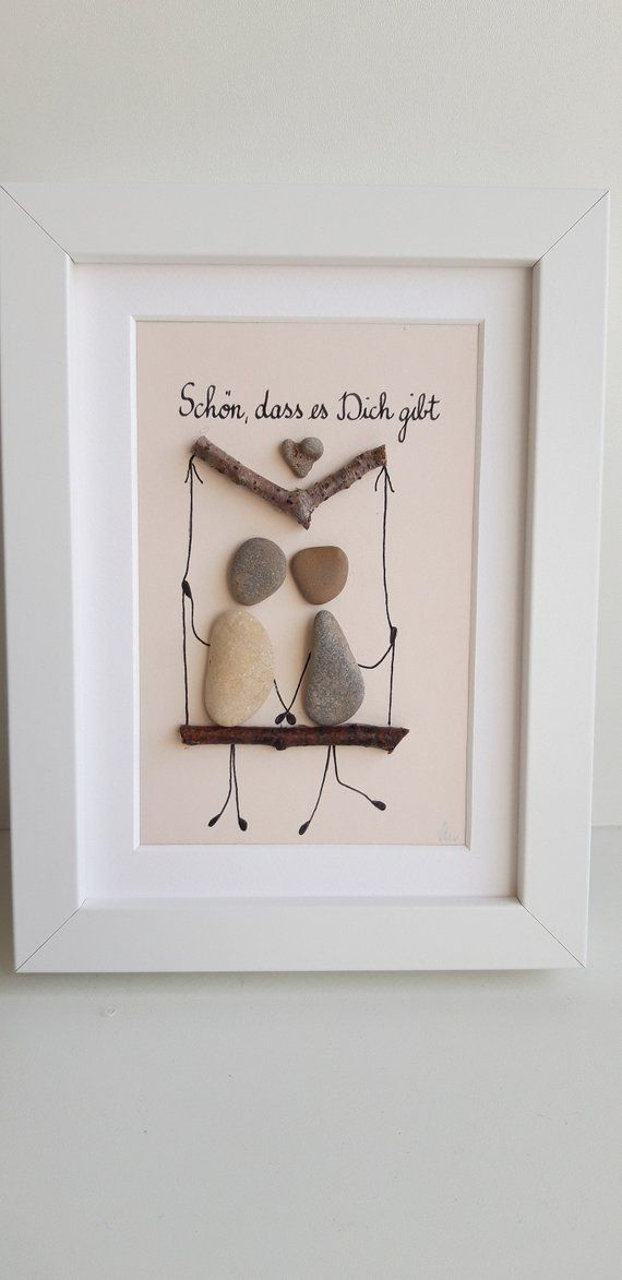 Love, Friendship, Stone Picture – Steinbilder, Michaela Heimhold