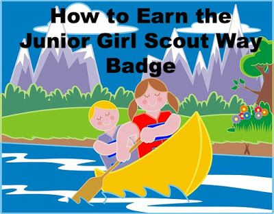 Here is the complete meeting plan for earning the Junior Girl Scout Way badge.