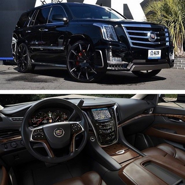 """2015 Escalade @lexaniofficial By @lexaniofficial"""