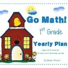 Colleagues, this is an excellent way to keep the pace we should at the time of teaching First Grade Math using the Go Math Curriculum. It includes ...