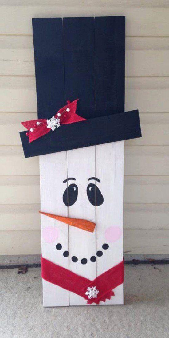 Best 25+ Wooden snowmen ideas on Pinterest