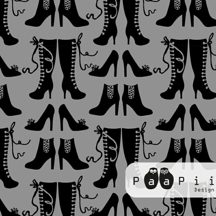 PaaPii Design - Korkkarit puuvillaneulos, harmaa 24,90€/m