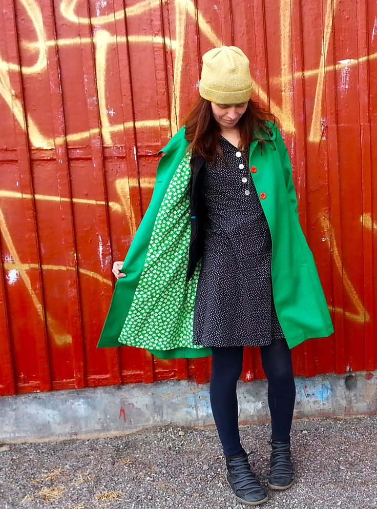 Green coat Rino, 2016.