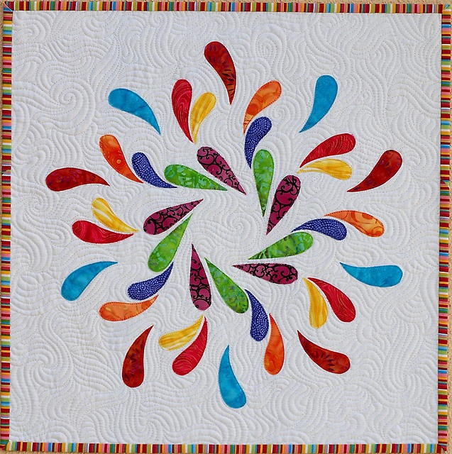 Amazing Snow Dance #quilt by Emma_Louise. http://www.flickr.com/photos/10202427@N07/
