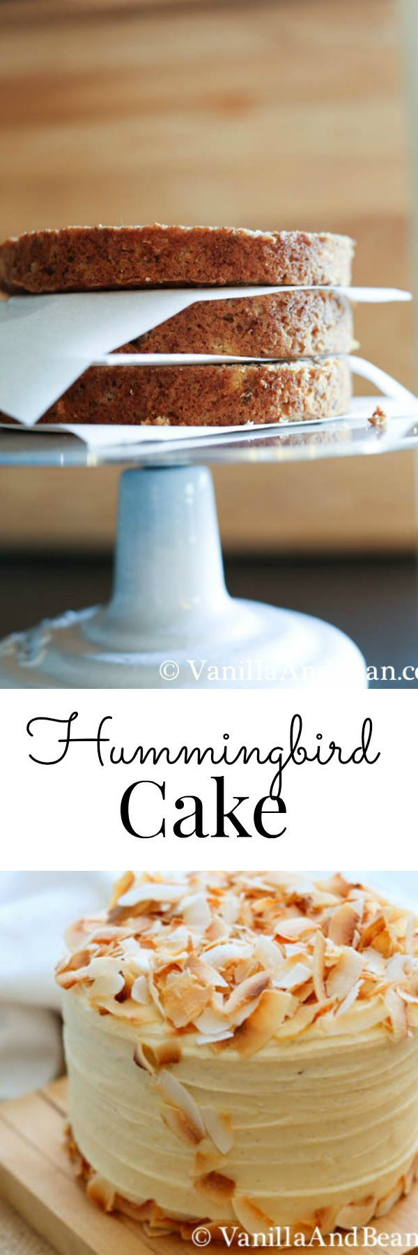 Hummingbird Cake with Lemon Cream Cheese Icing; a classic | Vanilla And Bean