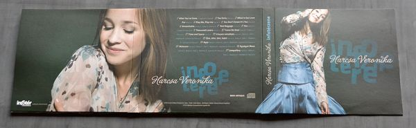 INFOTÉR CONFERENCE 2011 › logo+gift cd for participants by Tamas Walter, via Behance