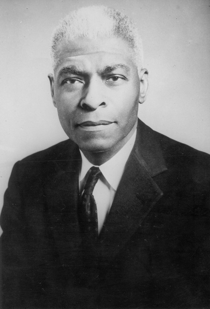 Dr. Benjamin E. Mays - minister, educator, scholar, social activist and the president of Morehouse College in Atlanta, Georgia from 1940 to 1967.: