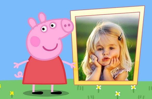 Marcos de Peppa Pig Fotos para editar