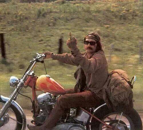 A classic Dennis Hopper shot