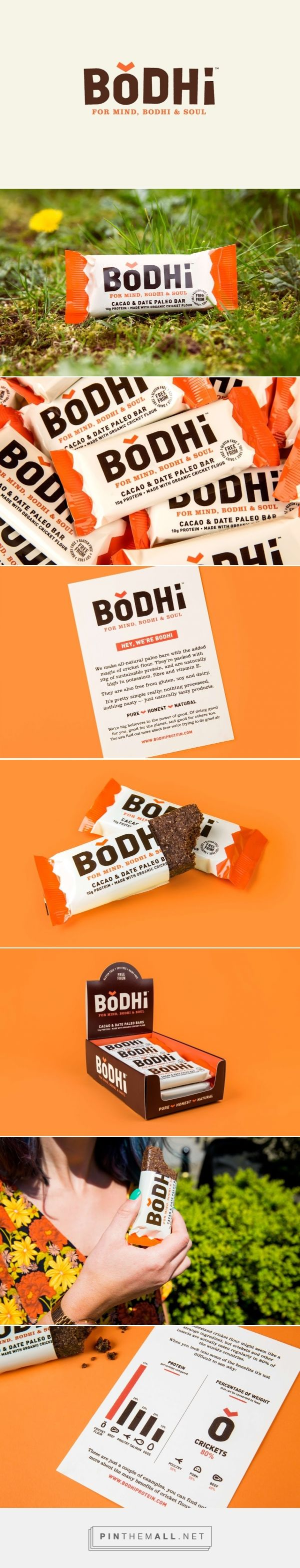 Bodhi Paleo And Protein Bars - Packaging of the World - Creative Package Design Gallery - http://www.packagingoftheworld.com/2016/05/bodhi-paleo-and-protein-bars.html