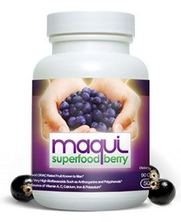Maqui Berry Pure Superfood AntiOxidant - top rated superfruit