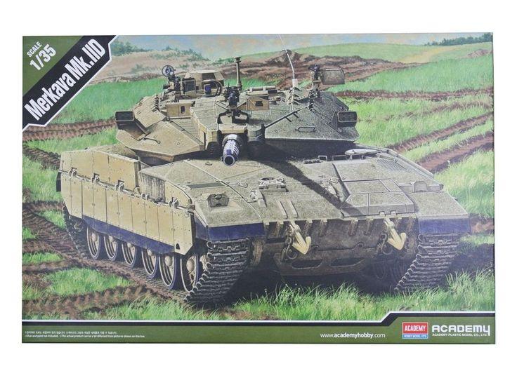 Academy Hobby Plastic Model Kit Merkava MK.IID 1/35 Scale Israle Tank 13286 NIB #Academy