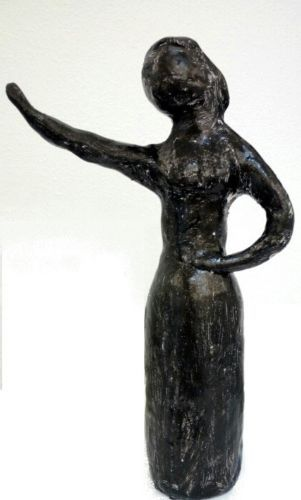 """scultura statua cozzani """"MUJER LUXURY  Rabarama  Pinelli Simeti Amadio investire"""