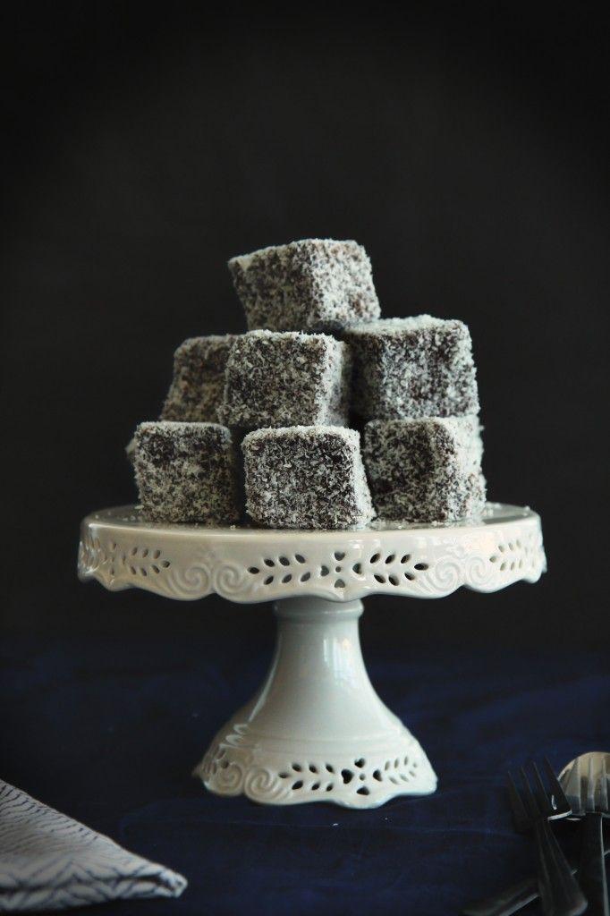Coconut Cream Lamingtons