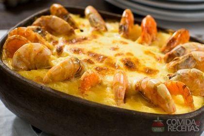 Receita de Camarão à moda chiclete em receitas de crustaceos, veja essa e outras receitas aqui!