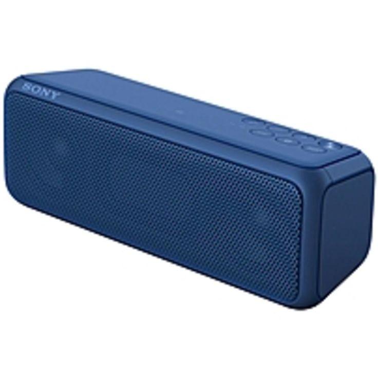 Sony SRS-XB3 Speaker System - Portable - Battery Rechargeable - Wireless Speaker(s) - Blue - 20 Hz - 20 kHz - Wireless LAN - Bluetooth - Near Field Communication - USB - Advanced Audio Coding (AAC)