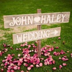Love: Hands Paintings, Wedding Receptions, Wood Wedding, Wedding Ideas, Rustic Signs, Wood Signs, Fonts, Wedding Signs, Outdoor Weddings
