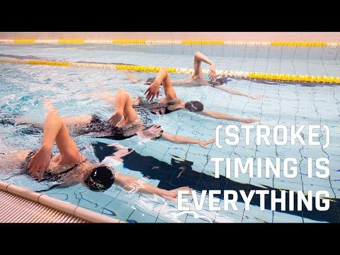 Stroke Timing Is Everything Youtube In 2020 Swim Technique Timing Is Everything Swimming Tutorials