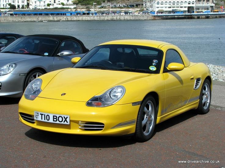 Porsche Boxter, Llandudno Promenade, 2012