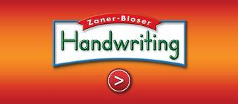 Zaner-Bloser Handwriting  - excellent source for cursive writing and news stories regarding cursive handwriting
