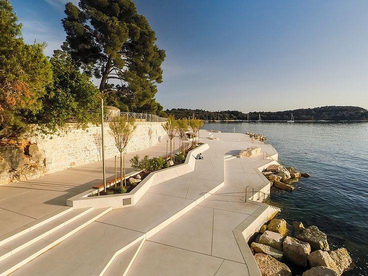 Urbanismo - soluções inteligentes que permitem a utilização para banho, mesmo em locais pedregosos. Adorei!