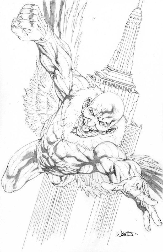 The Vulture By Kevin West Kevinwest Vulture Adriantoomes Sinistertwelve Sinistersix Spiderman Marvel Comics Art Marvel Marvel Villains