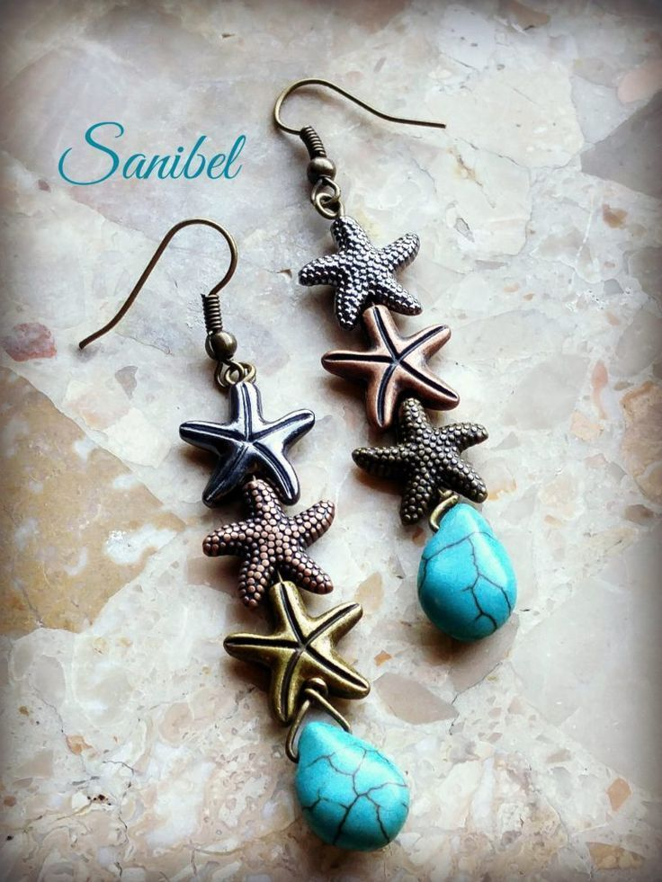 Sanibel earrings designed by Erin Prais-Hintz for Halcraft USA's Pretty Palettes featuring Bead Gallery beads from /michaelsstores/ #madewithmichaels