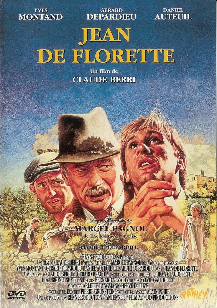 Jean de Florette. A must watch (even with subtitles), it is Gerard Depardieu at his best... Watch Manon de Source the second part to this story.
