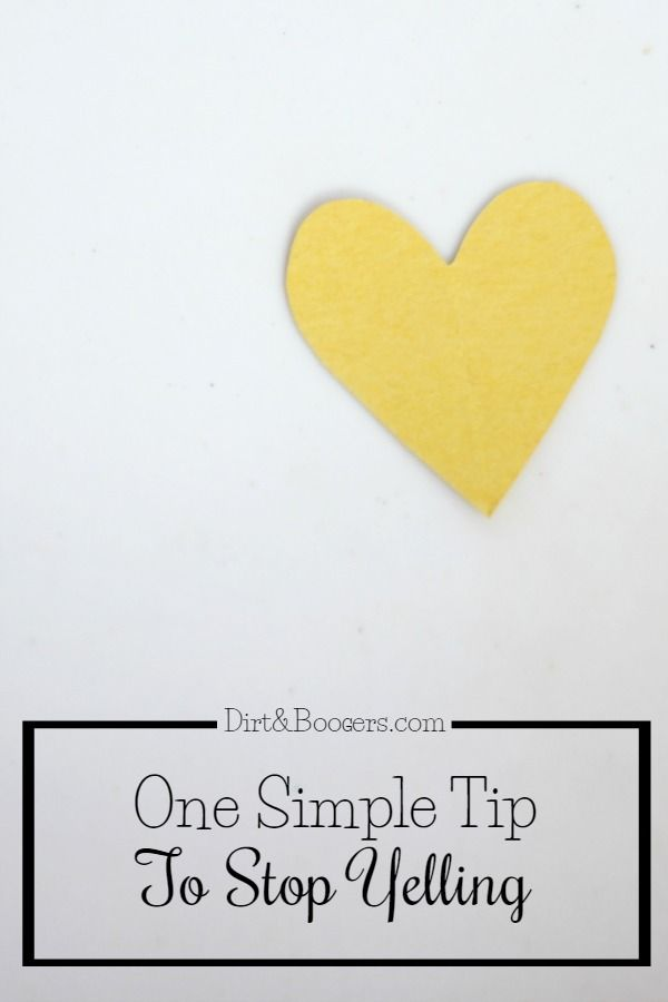 This one tip can help any parent stop yelling at their kids. I love how simple, yet effective it is!