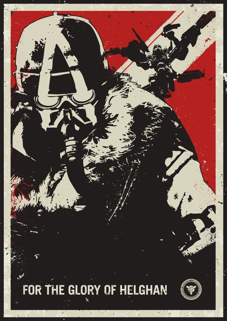 KillZone. Helghast Poster