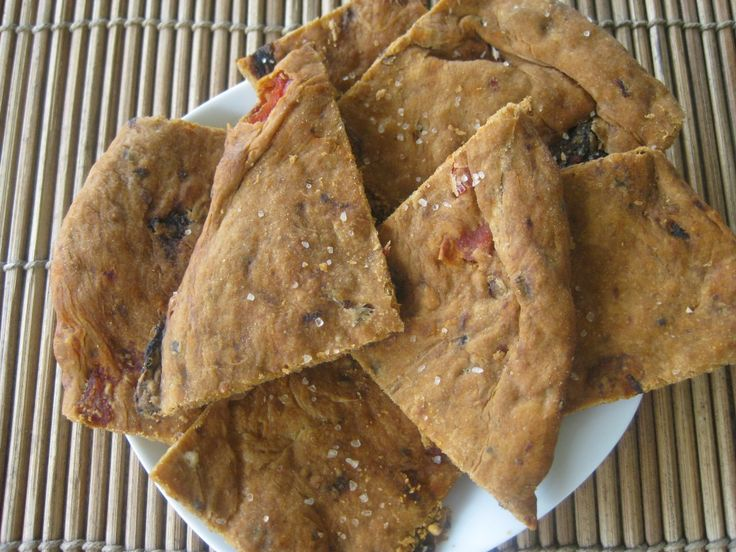 Basil & Sun-Dried Tomato Crackers Recipes — Dishmaps