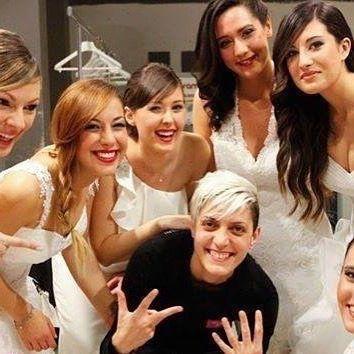 La carica giusta viene dal nostro cuore pulsante: la nostra fotografa con le sue modelle! @la fotografia di Annalisa Carelli