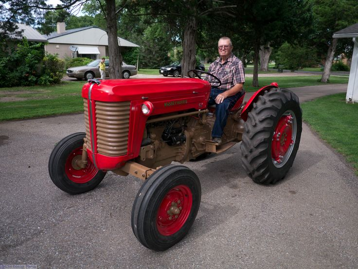 Restored Antique Tractors : Best images about massey ferguson tractors on pinterest