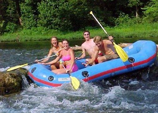 ... Missouri river rafting North Fork