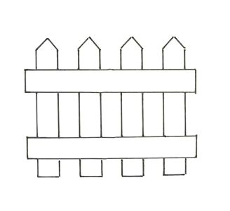 Farm Fence Clipart 127 best don't fence me in images on pinterest | clip art, fence