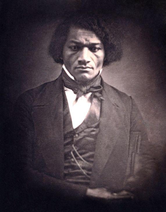 Daguerreotype of Frederick Douglass #nodate #victoriansofcolor