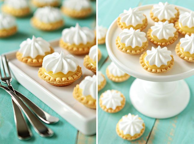 Mini Lemon Meringue Pies made in the microwave — what?!?