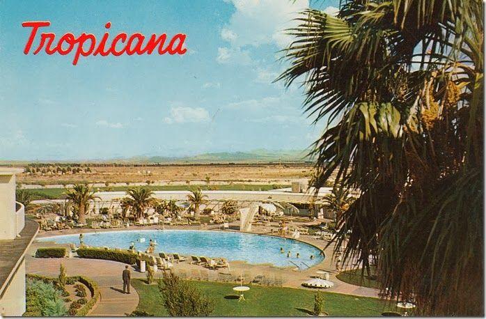 Vintage Postcard - The Tropicana Hotel, Las Vegas, Nevada