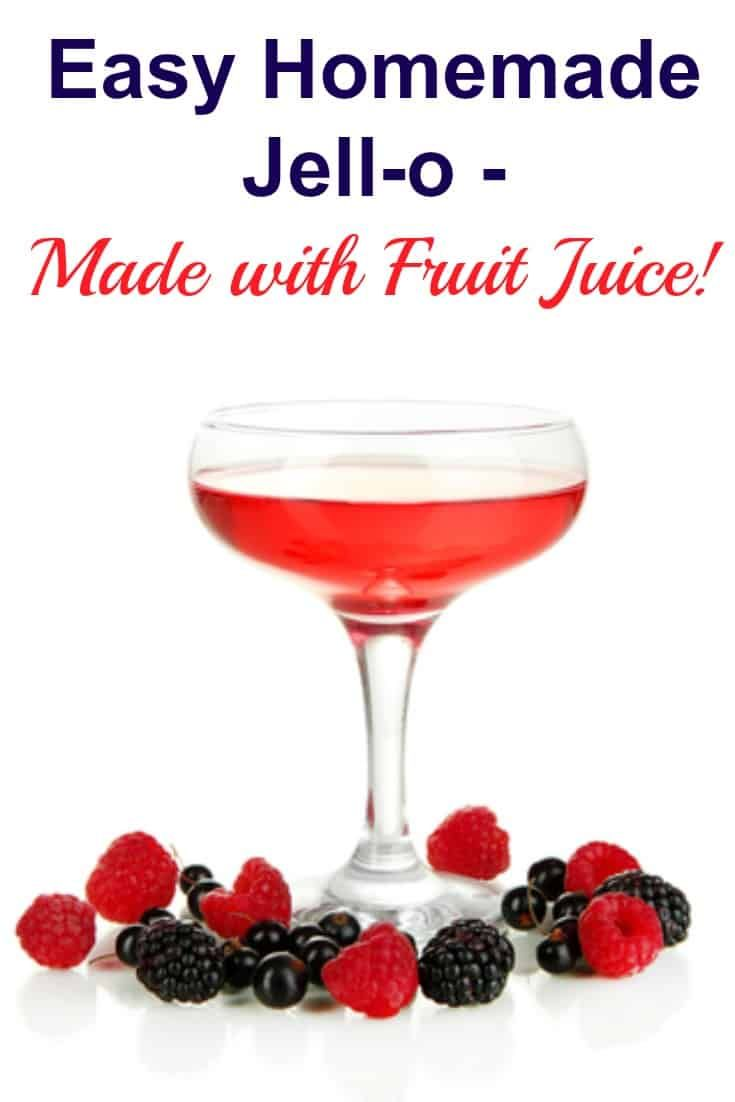 Simple And Healthy Homemade Jello Recipe Recipe Homemade Jello Jello Recipes Homemade Fruit Snacks