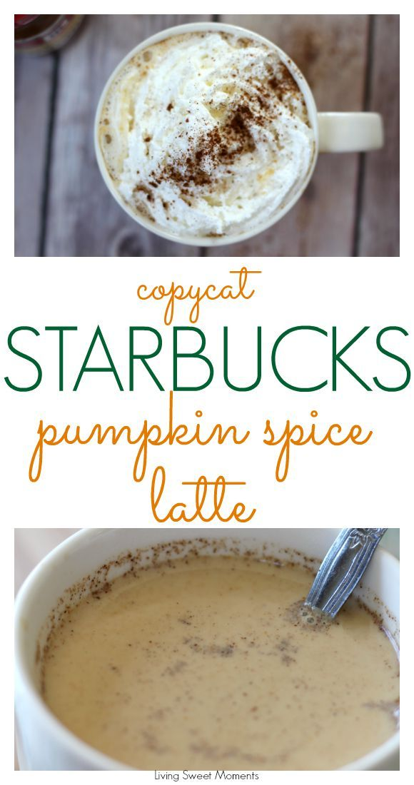 Copycat Starbucks Pumpkin Spice Latte Recipe: Perfect fall drink! Enjoy your favorite Starbucks drink for less money and made with natural ingredients