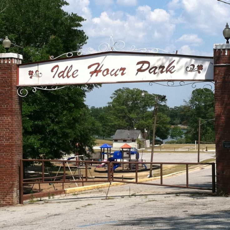 Idle Hour Park, Phenix City, Alabama - Idle Hour Park is between Moon Lake & Garrett Stadium in Phenix City,AL