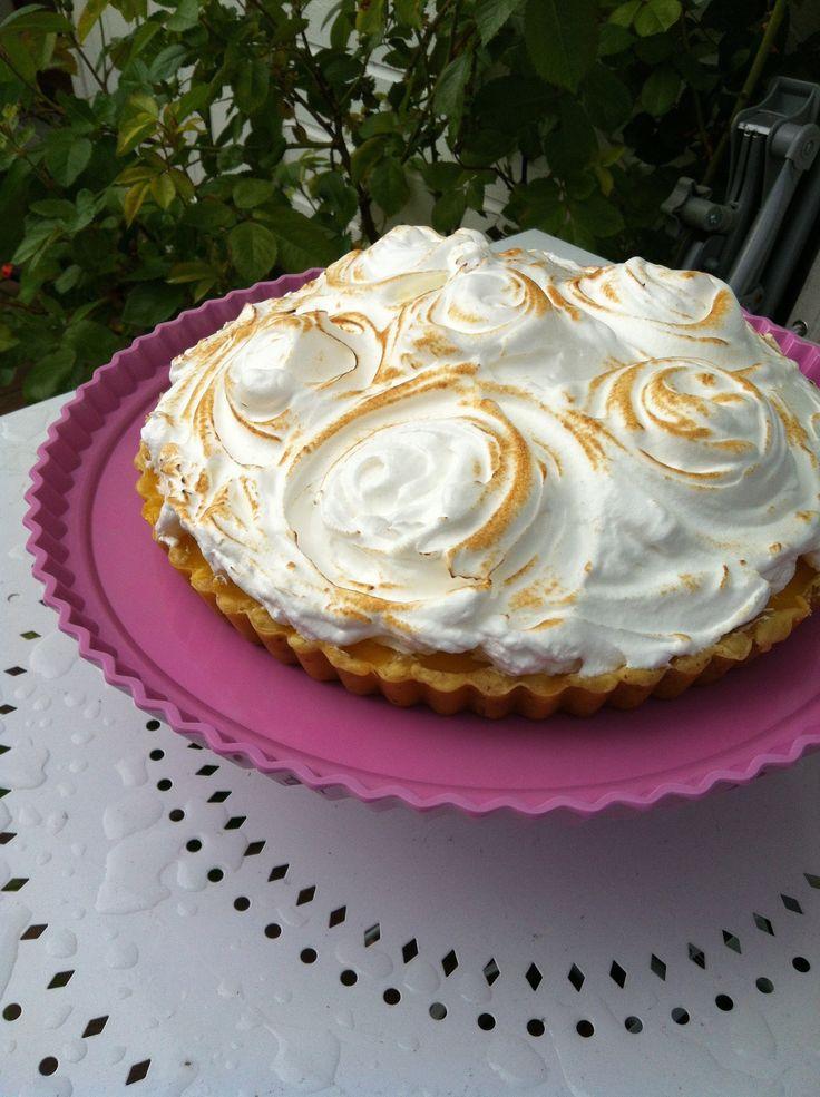 Sitronterte en av mine mest bakte kaker