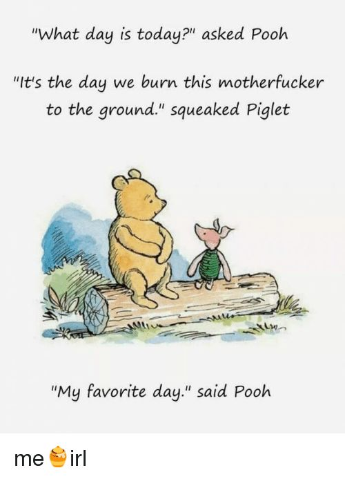 what day is today asked pooh - Google Search