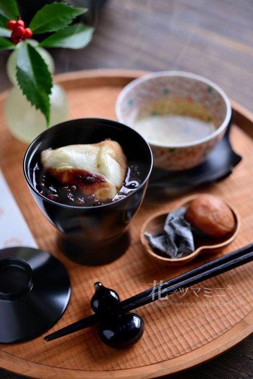 ぜんざい - Zenzai Mochi Beans sweet Soup