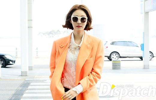 공항패션,고준희,k-drama,magazine,spring,vivid,styling