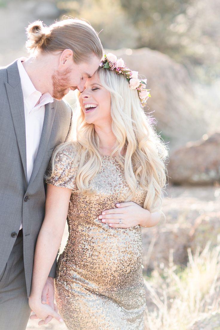 Romantic Desert Maternity A Amp J Couples Pregnant