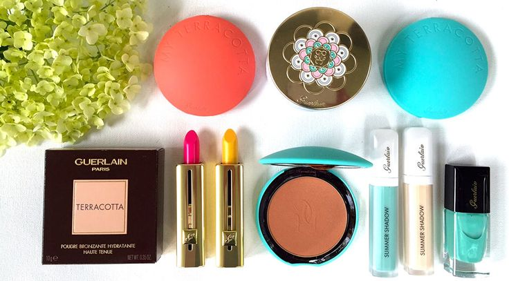 My favourite summer collection! Win the ENTIRE Guerlain summer collection!